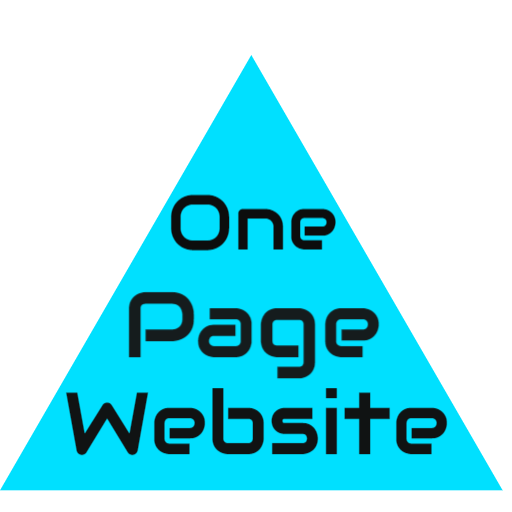 One Page Website  --- A one page website design is a powerful and economical tool for promoting your business